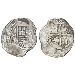 Mexico City, Mexico, cob 8 reales, 1640/39P, ex-Concepcion (1641), ex-Rudman.