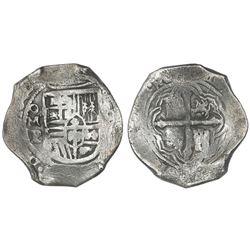 Mexico City, Mexico, cob 8 reales, 1640P, ex-Concepcion (1641), ex-Rudman.