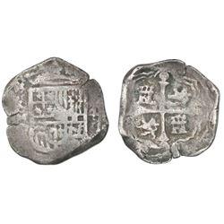 Mexico City, Mexico, cob 4 reales, (16)24/3D.