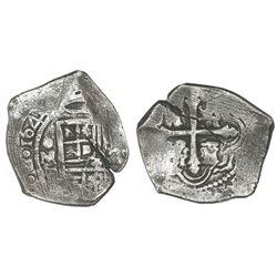 Mexico City, Mexico, cob 4 reales, 1641P, rare, ex-Rudman.