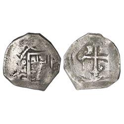 Mexico City, Mexico, cob 4 reales, (1)671G, rare.