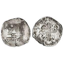 Potosi, Bolivia, cob 8 reales, (16)33(T).