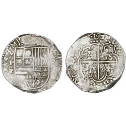 Potosi, Bolivia, cob 8 reales, (16)4(?)T.