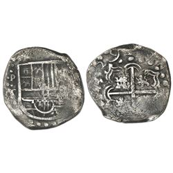 Potosi, Bolivia, cob 2 reales, (16)29T, rare, ex-Concepcion (1641), ex-Rudman.