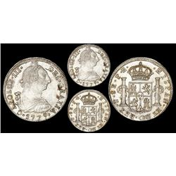 Potosi, Bolivia, bust 8 reales, 1779PR, NGC MS 64, finest known in both NGC and PCGS censuses.