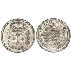 Brazil (Rio mint), 150 reis, Jose I, 1754-R,  ATAN NGIS  error, NGC VF 30.