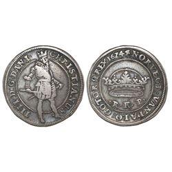 Denmark, 1 krone, 1624, Christian IV.