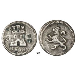 Guatemala, 1/4 real, 1808.