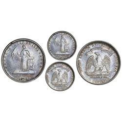 Honduras, 50 centavos, 1879, Lovett type, NGC VF 35.