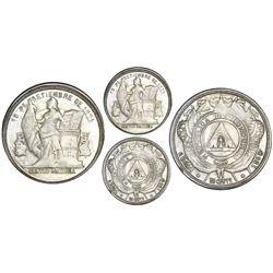 Honduras, 50 centavos, 1908/897, fineness 0.835/0.900, NGC MS 63.