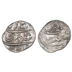 Bombay, India, 1/5 rupee, AH1131//1 (1717-18), NGC AU 53.