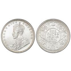 Calcutta, India (British), 1 rupee, George V, 1911(C ), NGC MS 63.