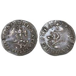 Tlalpujahua, Mexico (National Congress), 1/2 real, Ferdinand VII, 1812, NGC VF 30.