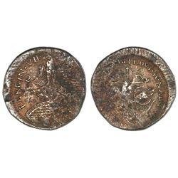 Tlalpujahua, Mexico (Supreme National Congress), copper 2 reales, (1812), rare.