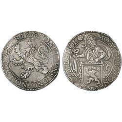 """Holland, United Netherlands, """"lion"""" daalder, 1608."""