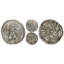 Wallachia (Romania), silver ducat, Mircea the Old (1386-1418).