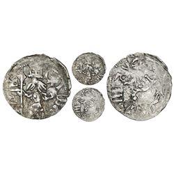 Wallachia (Romania), silver ducat, Mircea the Old (1386-1418).