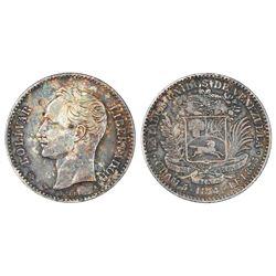 Venezuela, (20 centavos), 1874-A.