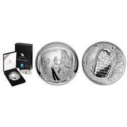 USA (Philadelphia mint), 5-ounce commemorative dollar proof, 2019, Apollo 11 Moon landing 50th anniv
