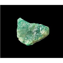 Natural emerald, 7.5 carats, from the 1715 Fleet.
