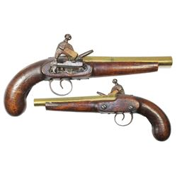 Spanish colonial Caribbean miquelet pistol, early 1800s.