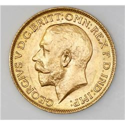 Great Britain (London, England), George V, sovereign, 1925.