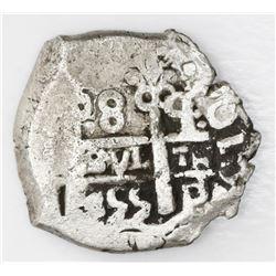 Potosi, Bolivia, cob 8 reales, 1755q.