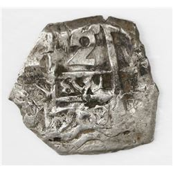 Potosi, Bolivia, cob 2 reales, 1767V-Y.