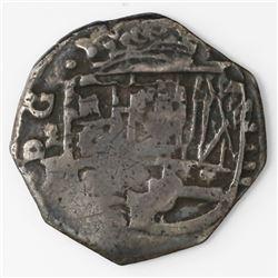 Madrid, Spain, cob 4 reales, 1649BI, rare.