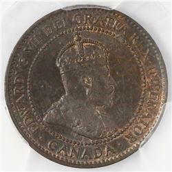 Canada, copper 1 cent, Edward VII, 1906, PCGS MS64BN.