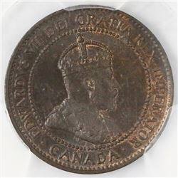 Canada, copper 1 cent, Edward VII, 1906, PCGS MS64BN.