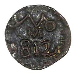 Oaxaca (Morelos / SUD), Mexico, copper 1/2 real, 1812.