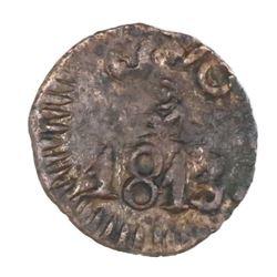 Oaxaca (Morelos / SUD), Mexico, copper 1/2 real, 1813.
