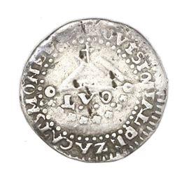 Zacatecas, Mexico, 1 real, Ferdinand VII, 1811-LVO, NGC VF 25.
