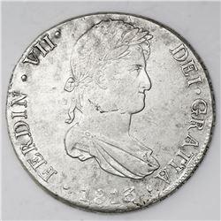 Lima, Peru, bust 8 reales, Ferdinand VII, 1813JP.