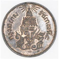 Thailand, bronze 1/2 pai, CS1236 (1874), Rama V, NGC AU 58 BN.