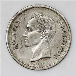 Venezuela (struck at the Philadelphia mint, USA), (25 centimos), 1903.