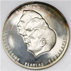 Mexico, proof silver medal (private issue), 1964, inauguration of Ford automaker plants in Mexico in