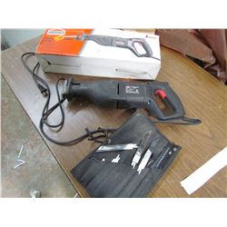 RECIPROCATING SAW & BLADES (ELECTRIC)