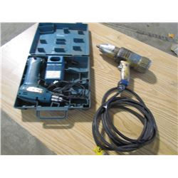ELECTRIC IMPACT ½  DRIVE & CORDLESS DRILL (MAKITA)