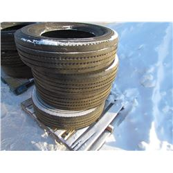 TIRES (MICHELIN) *275/80/R22.5* (QTY 4)