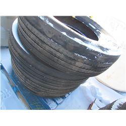 TIRES (MICHELIN) *11R22.5* (QTY 4)