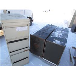 FILING CABINETS (METAL) *4 DRAWER*