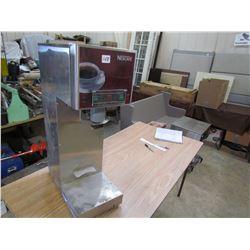 COMMERCIAL COFFEE MACHINE (NESCAFE) *SINGLE BURNER*