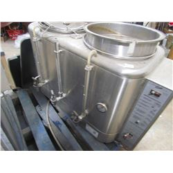 INDUSTRIAL COFFEE MAKER (CURTIS) *STAINLESS* & ICE MACHINE PARTS