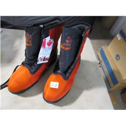 NEW CHAIN SAW BOOTS (ROYER) *SIZE 12.5*