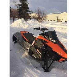 """SNOWMOBILE (2012 ARCTIC CAT F1100) *TURBO, LIQUID COOLED, 129"""" TRACK, 1,300 MILES*"""
