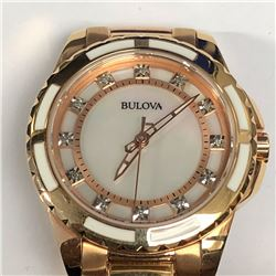 2) BULOVA WITH DIAMONDS WATCH