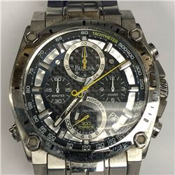 7) BULOVA 300M CHRONOGRAPH WATCH