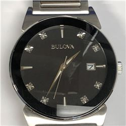 11) BULOVA DIAMOND WATCH